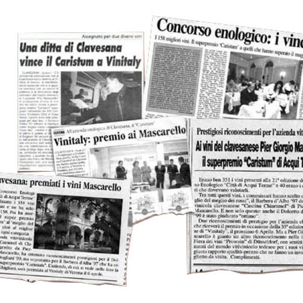 Alcuni ritagli di giornale
